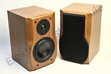 Paar Dynavox RLS-60 Hifi 2-Wege Lautsprecher Regalbox Nussbaum 4 Ohm