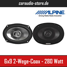 "Alpine SXE-6925S 6x9"" 2-Wege Koaxial-System 16cm x 24cm Lautsprecher 280Watt Max"