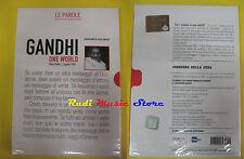 DVD film GANDHI ONE WORLD Le parole hanno cambiaro il mondo SIGILLATO no vhs(D4)