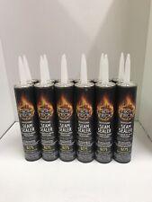 12 Tubes Auto Body Professional Seam Sealer Black 300 Ml