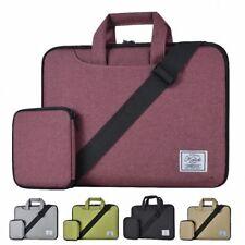 KALIDI 13'' Shoulder Carry Messenger Bag For 12-14 Inch Laptop MacBook Air Red