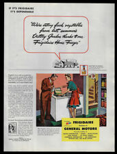 1944 Vintage Print Ad 40's FRIGIDAIRE GM general motors washing machine image