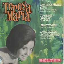 TERESA MARIA EP Spain 1964 Be my baby +3 ( In Spanish )