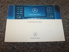 2007 Mercedes Benz ML350 ML320 M-Class Comand Navigation System Owner Manual