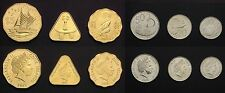 COOK ISLANDS COMPLETE COIN SET 10+20+50 Cents 1+2+5 Dollars 2015 UNC LOT of 6