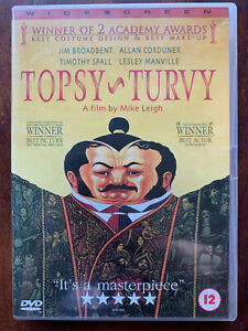 Topsy Turvy DVD 1999 British Mike Leigh Gilbert & Sullivan Theatre Drama Classic