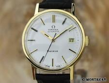 Omega Geneve Swiss Made Automatic Mens Gold Plated 1970s Rare Vintage Watch NV60
