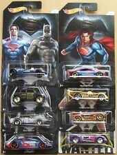 Batman vs superman hot Wheels lot de 8 cours moulé véhicules-Jeu de 7 + 1-cardées