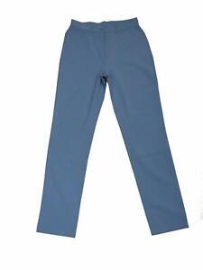 09226 Damen Hose Stoff Benetton Gr. 44 blau mJ