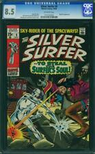 Silver Surfer # 9 CGC 8.5 -- 1969 -- Mephisto. A++ centering #1711532003