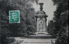 Alte AK Berlin, Componisten-Denkmal im Tiergarten, 1932 Drucksache, nach Belgien