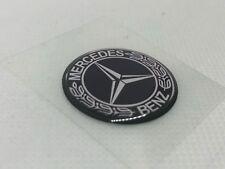 2 pcs. Mercedes-Benz logo badge sticker. 30mm. Domed 3D Stickers/Decals.