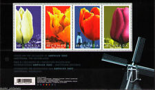 "Canada - "" FLOWERS ~ TULIPS "" MNH MS Miniature Sheet 2002 !"