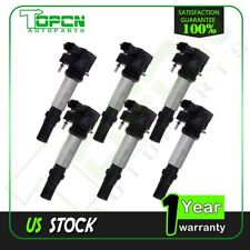 Pack of 6 Ignition Coils for Buick Cadillac Chevy GMC Saab Saturn V6 2.8L 3.6L