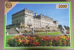 JIGSAW Falcon Harewood House De-Luxe 2000 Piece Puzzle COMPLETE