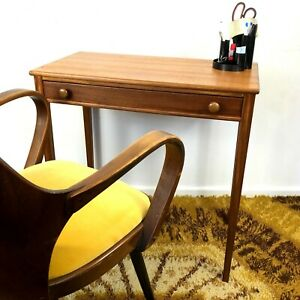 Elegant Mid Century Teak Console Table/Desk/Dressing Table Younger Furniture 60s