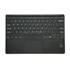 Slim 81-Key Bluetooth Keyboard with Touch Pad for Windows Android U6C2 G4H3