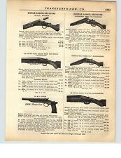 1928 PAPER AD H&R Handy Gun LeFever Nitro Special Shotgun Remington Riot