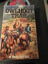 Owlhoot Trail by H. Paul Jeffers (1990, Paperback)
