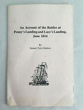 Riverhead Northville Hallockville LI NY Battles at Penny's & Luce's Landing 1814