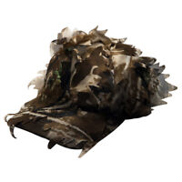 3D Sneaky Woodland Leaf Cap Leafy Camo Hat Reel Tree Tactical Hunting One Size