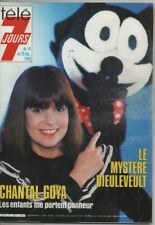 Télé 7 jours. N° 1333. Chantal GOYA - Brigitte FOSSEY -