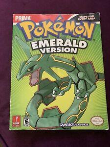 Pokemon Emerald Version Prima Strategy Guide Book(No Poster)