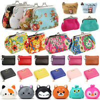 Womens Change Coin Purse Small Clutch Wallet Keys Card Mini Pouch Handbag Holder