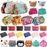 Womens Small Wallet Bags Retro Flower Coin Change Purse Clutch Keys Mini Pouch