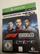Xbox One f1 2018 Formula One Headline Edition * Rennauto Spiel Neu Verpackungsschaden *