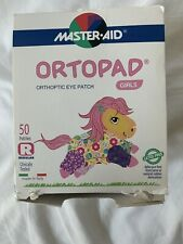 Ortopad 45 Bamboo Eye Patches, Girls - for occlusion therapy