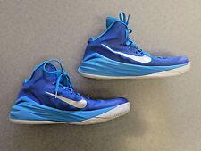 Nike Hyperdunk Blue/Silver Basketball Shoes Men's 13.5 (eur 48)