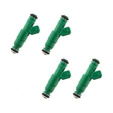 BOSCH 42# 440cc GENUINE GREEN GIANTS FUEL INJECTORS (4) TURBO 1.8T/2.3T