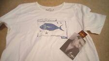 Hard Rock Cafe T-shirt U2/Bono-pesce può volare africano COTONE (XL) Nuovo di Zecca