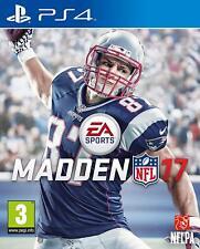 Ps4 MADDEN NFL 17 NFL 2017 football américain jeu article neuf