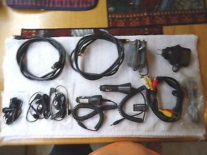 Lot Of 11 Electronic Items,3,Ear Buds,1,AC Adaptor,1,LG Travel Adaptor,2 Auto