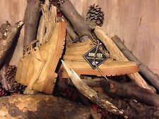 80s TIMBERLAND MOC TOE BOOTS 57088 BRN SIZE 7 Mens GORE TEX MADE IN USA