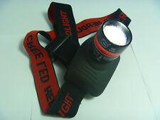 Q3 LED Bright Head Lamp Flash Light Zoom Focus Strap