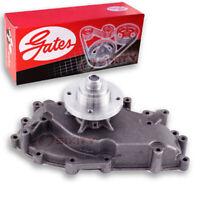 Gates Engine Water Pump for 1983-1994 Ford F-250 6.9L 7.3L V8 - Coolant sw