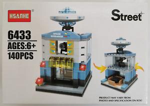 Mini Street View Building Block Toy Space Research Centre - 140pcs