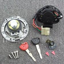 Motorcycle Fuel Gas Tank Cap Cover Lock Key Set For Kawasaki NINJA250 Z250 Z300
