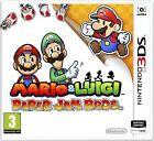 MARIO & LUIGI PAPER JAM BROS TEXTOS EN ESPAÑOL NUEVO PRECINTADO 3DS