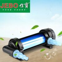 JEBO 7-36W UV Sterilizer Lamp Light Ultraviolet Filter Clarifier Aquarium