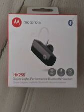 Motorola Hk255 Wireless Super Light Music Streaming Bluetooth Headset - Open Box