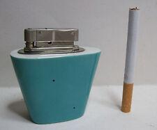 Tischfeuerzeug Benzinfeuerzeug 50er 60er im Porzellangehäuse Porzellan Feuerzeug