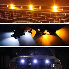 JDM LED Amber&White Lamp DRL Grille Light Fit Ford F150 F250 F350 F450SVT Raptor