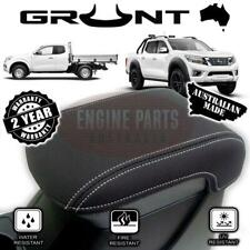 Nissan NP300 D23 Navara 2015 - 2019 Neoprene Console Lid Cover Wetsuit Material
