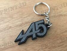 Porte clés / Keychain PVC souple Renault 5 Alpine A5 capot calandre logo noir