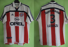 Maillot Bayern Munich Adidas Munchen LIZARAZU #3 Opel vintage Jersey - M