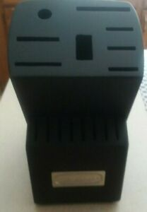 CUISINART BLACK WOOD Storage Knife Block 16 Slot (Block Only) LOWEST PRICE (NEW)